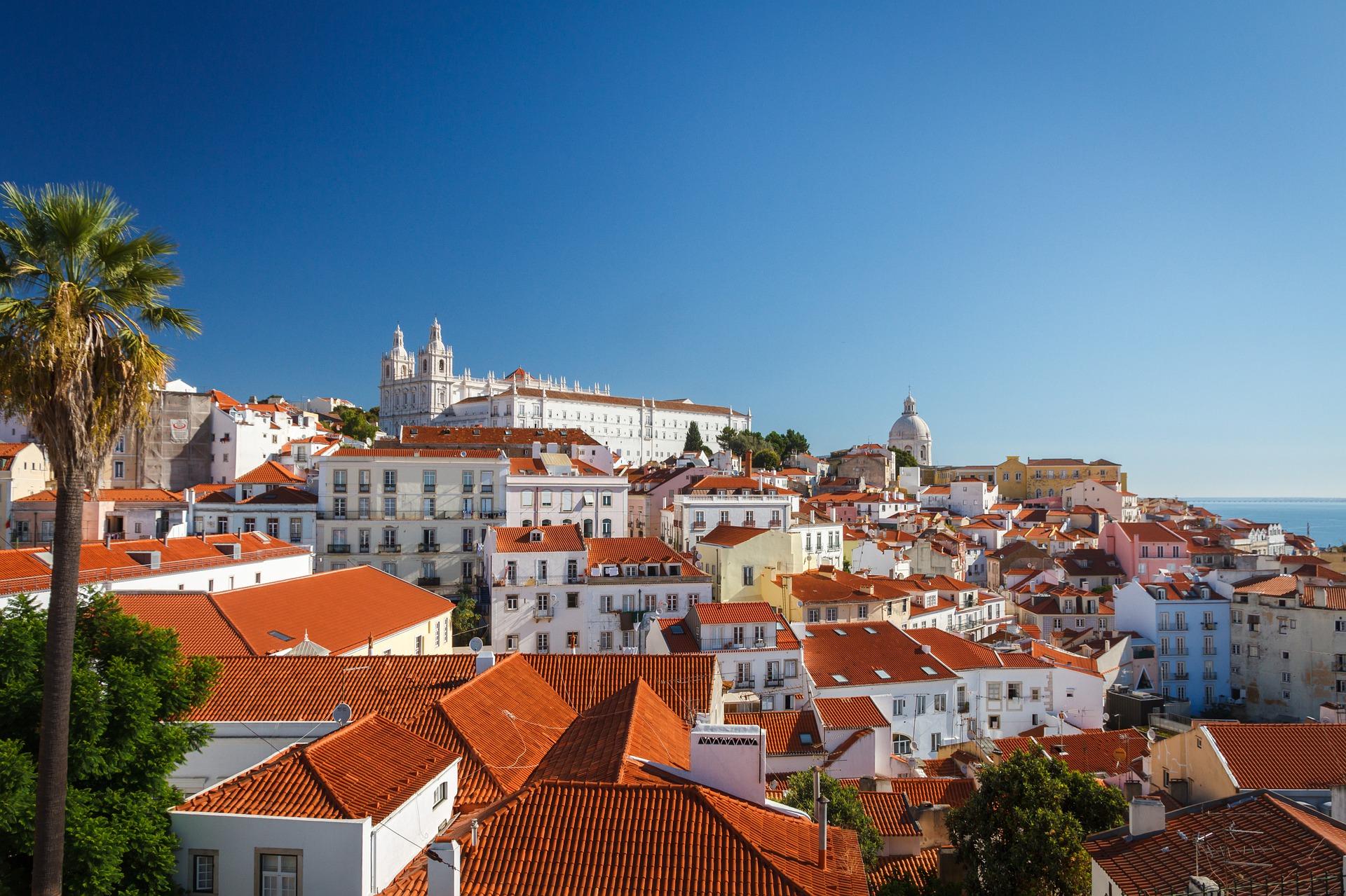 Krásný pohled na Lisabon