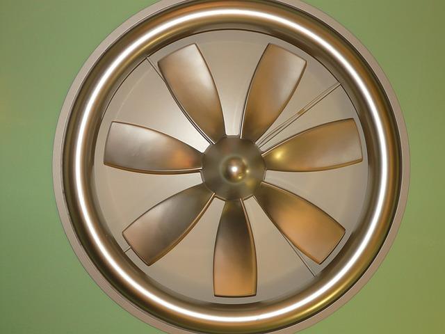 vrtule ventilátoru