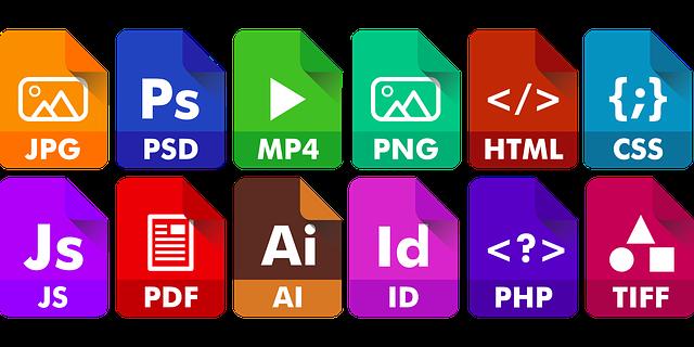 ikony programů Adobe