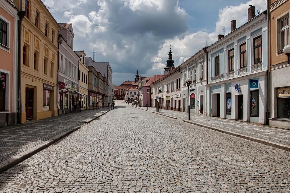 ulice v Pelhřimově